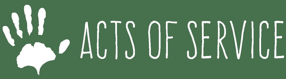 AOS logo white